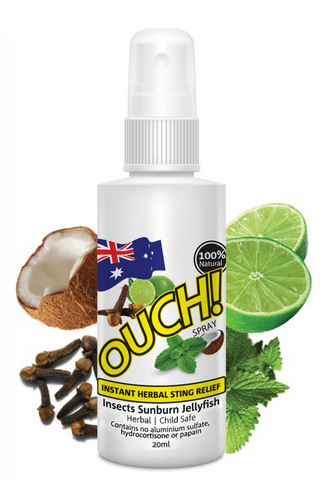 Ouch Instant herbal Relief Spray