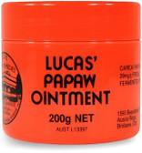 Lucas Paw Paw Ointment 200gm jar