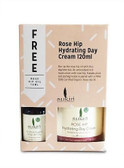 Sukin Rosehip Hydrating Day Cream 120ml + Rosehip Oil 15ml