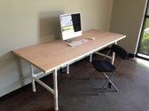 Cheap office desks with large tabletop area