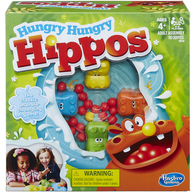 Hungry Hippos Family Boardgame1