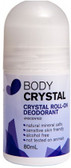 Body Crystal Roll-On Deodorant Unscented 80ml