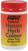 Bonvit Henna Powder Burgundy 100g