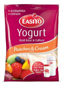 Easiyo Sweet Peaches & Cream Flavour 240gm