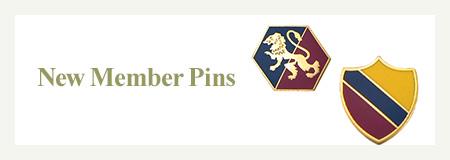 New Member Pins