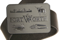 Sterling Silver Custom Belt Buckle