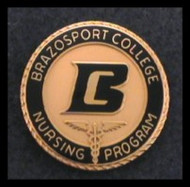 Brazosport College - Classic Nursing Pin