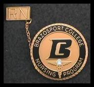 Brazosport College - Preferred Nursing Pin