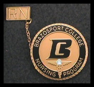 Brazosport College Preferred Nursing Pin