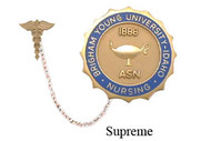 BYU - ASN Supreme Nursing Pin