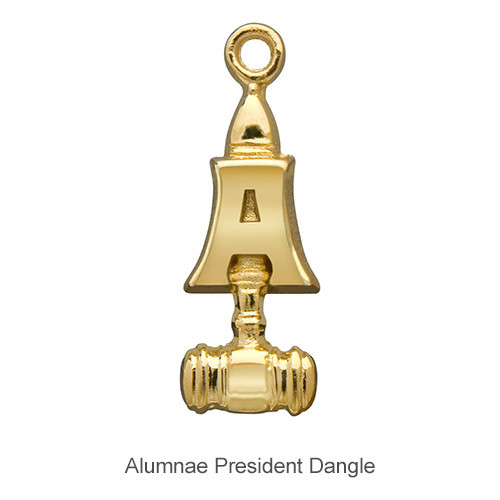 Delta Zeta Alumnae/Alumni President Dangle