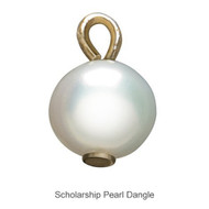 Delta Zeta Scholarship Pearl Dangle