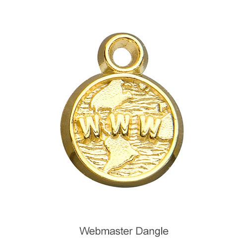 Delta Zeta Webmaster Dangle