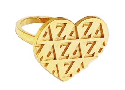Delta Zeta Signature Ring