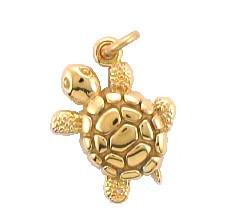 Delta Zeta Turtle Pendant