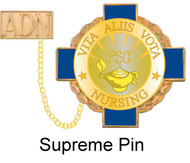 """1"""" Supreme Nursing Pin"""