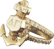 Badge Ring Holder - Crown Diamond