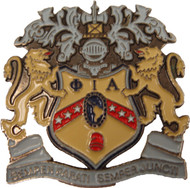 PIA Large Crest Pin