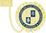 """1"""" Nursing Pin w/ Guard & Diamond"""