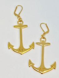 Anchor Earrings - GP