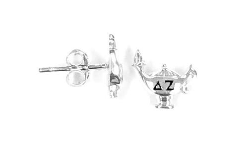 Delta Zeta Lamp Earrings MINI