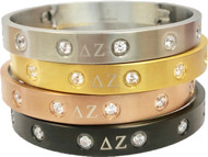 DZ Jeweled Bangle Bracelet