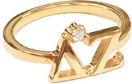 Delta Zeta Tiffany Ring