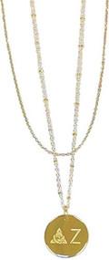 Delta Zeta Layered Necklace