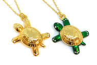 Necklace - Large Turtle