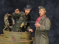Alpine Miniatures - DAK AFV Commander Set