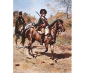 The Art of Don Troiani - 4th Continental Light Dragoon, 1779-1781