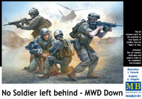Masterbox Models - No Soldier Left Behind US Army Soldiers & Wounded Dog