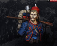 Life Miniatures - French Zouave Regiment, 1914