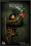 "DG Artwork British Army Great War Series: ""War Pigeon"",  Duke of Wellington's Regiment"