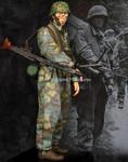 "Alpine Miniatures - MG Gunner, 12 SS Panzer Division ""HJ"""