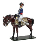 Wm. Britain: Ceremonial -  Prince Regent as Colonel, 10th Light Dragoons, 1795