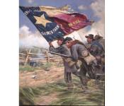 The Art of Don Troiani - Color Bearer 1st Texas Regiment C.S.A., 1862