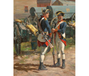 The Art of Don Troiani - The Royal Regiment of Artillery, 1775