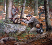 The Art of Don Troiani - Confederate Sharpshooters