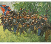The Art of Don Triani - General J.B. Gordon at Gettysburg, July 1, 1863