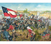 "The Art of Don Troiani - ""Never Give Up the Field"" - Battle of First Manassas, July 21 1861"