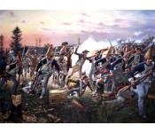 The Art of Don Troiani - Breymann's Redoubt, Battle of Saratoga, 1777