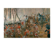 The Art of Don Troiani - Battle of Guilford Courthouse, March 15, 1781
