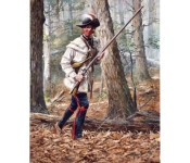 The Art of Don Troiani - Continental Independent Rifle Company