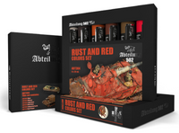 Abteilung 502 - Rust & Red Weathering Oil Paint Set