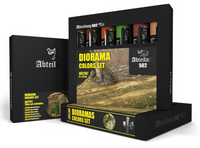 Abteilung 502 - Dioramas Weathering Oil Paint Set