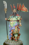Andrea Miniatures: Classics In 90MM - Chinese Warrior, Kuan Yu, 300 AD