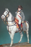 Andrea Miniatures: Classics In 90MM - Napoleon on Horseback, 1814