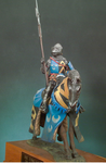 Andrea Miniatures: Classics In 90MM - Mounted Knight, 1400
