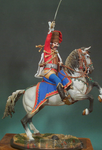Andrea Miniatures: Classics In 90MM - Prussian Hussar Officer, 1762